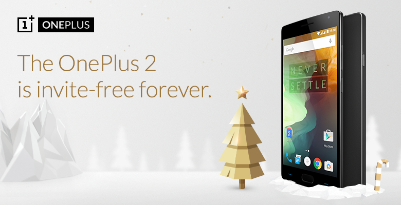 OnePlus 2 Is Now Invite-Free Forever In India; OnePlus X Open Offer Stands Till 7th Dec.