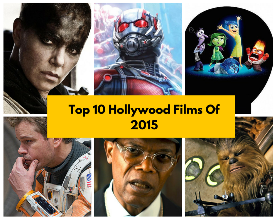 Best Of Hollywood In 2015 – Top Ten Films
