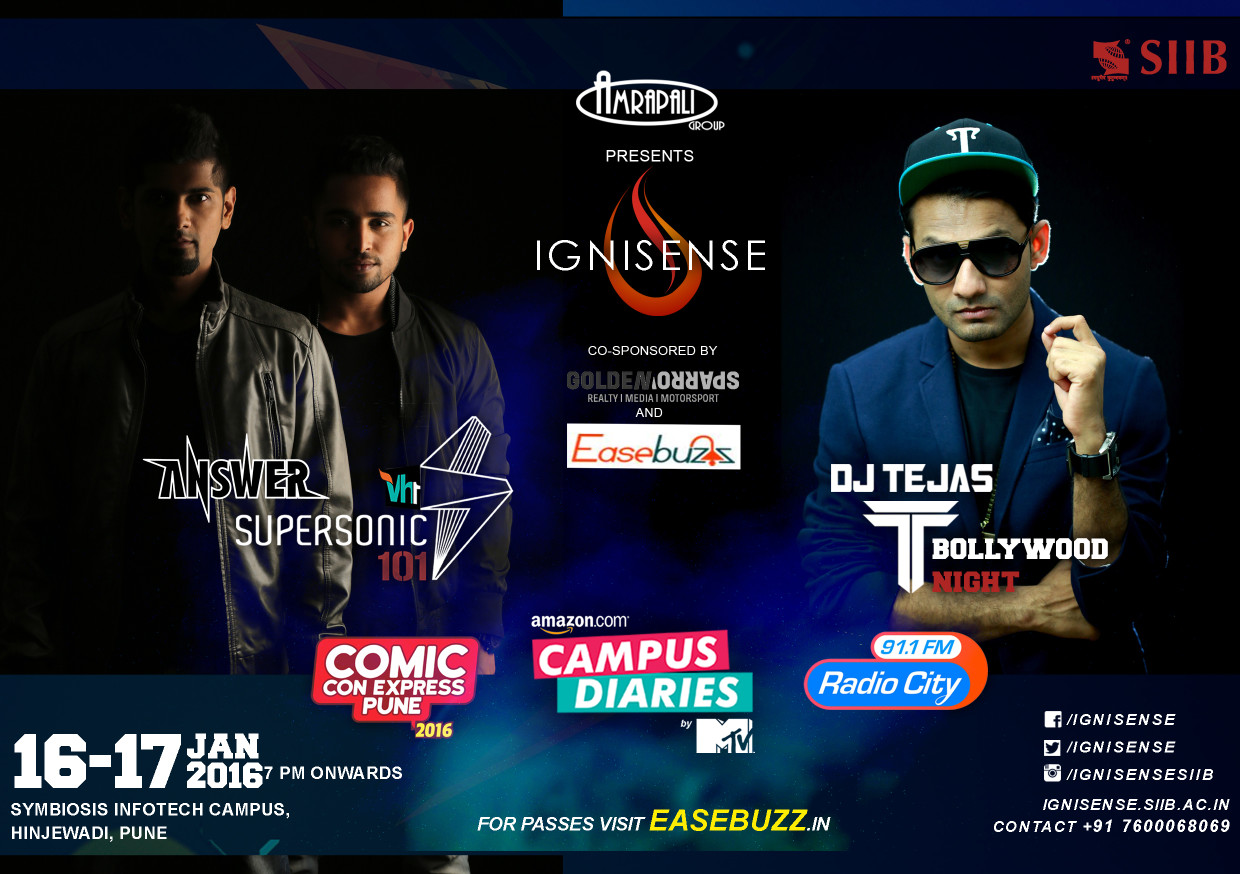 IGNISENSE '16 – Carnival Of Rebels. Prizes Worth Rs 6 Lakhs To Be Won!
