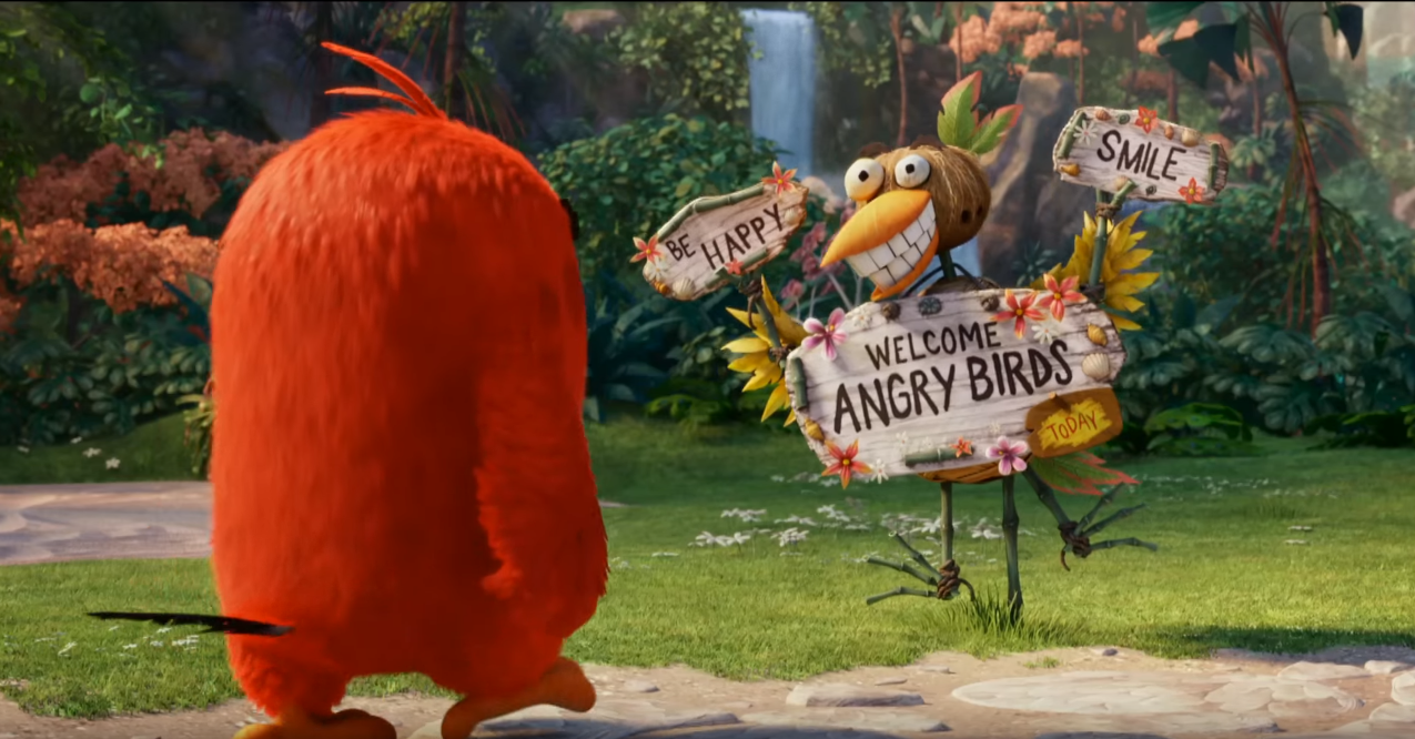 Watch The New 'Angry Birds Movie' Trailer