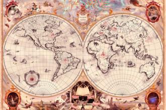 jk rowling wizarding schools across the world map