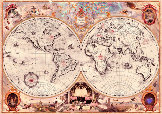 J.K. Rowling Reveals Three New Wizarding Schools Around The World