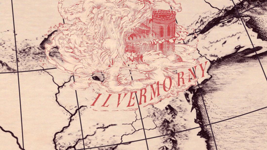 north american Wizarding-School-Map-Ilvermorny
