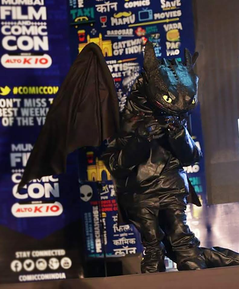 toothless how to train your dragon cosplay