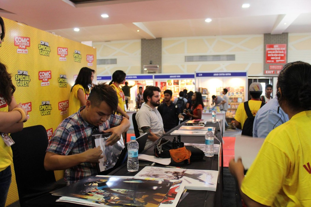 comic con express pune