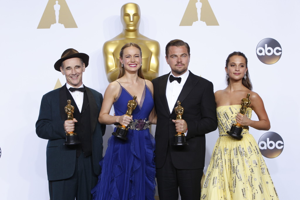 A Review of the Oscars - Actors