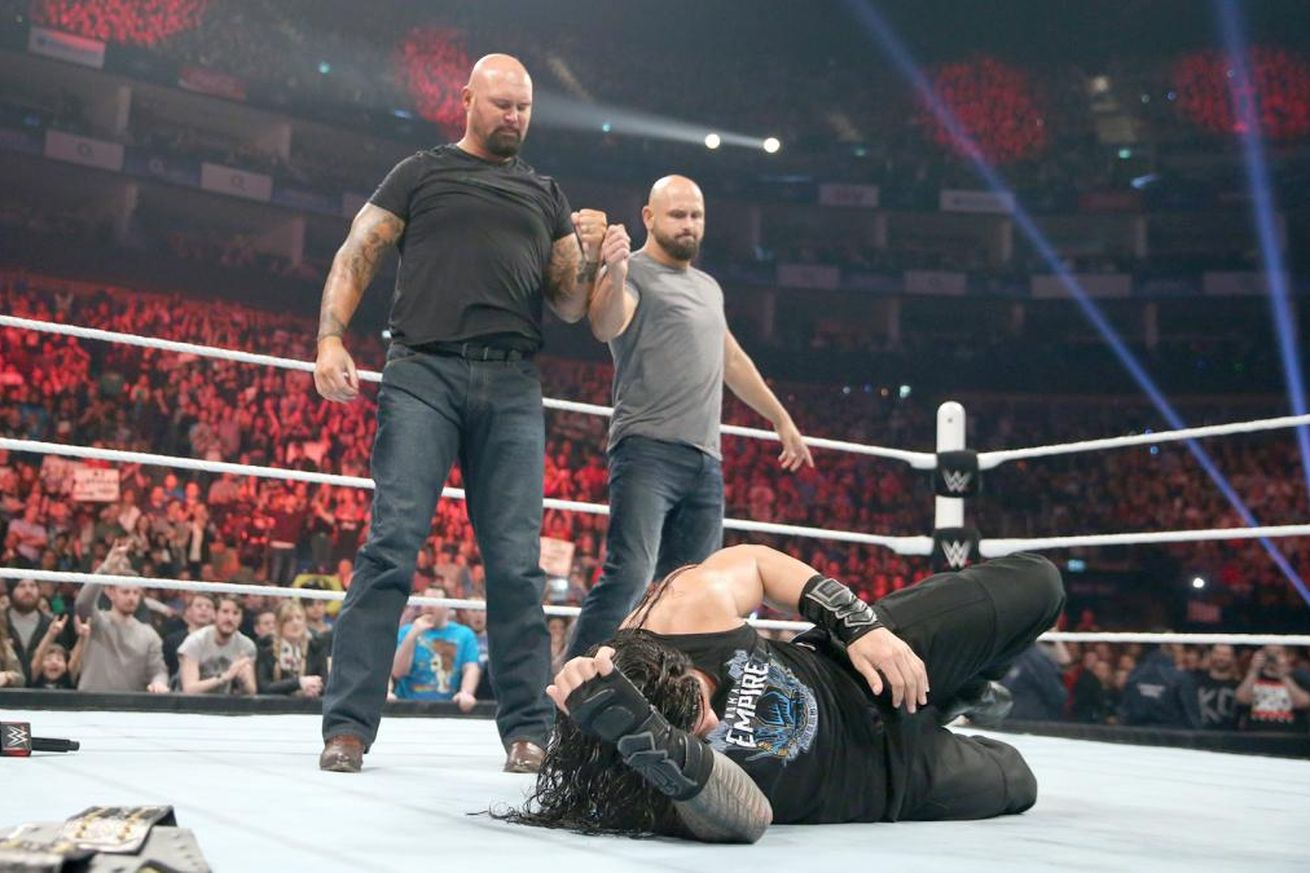 The Five-Knuckle Shuffle: WWE Raw 18 April 2016