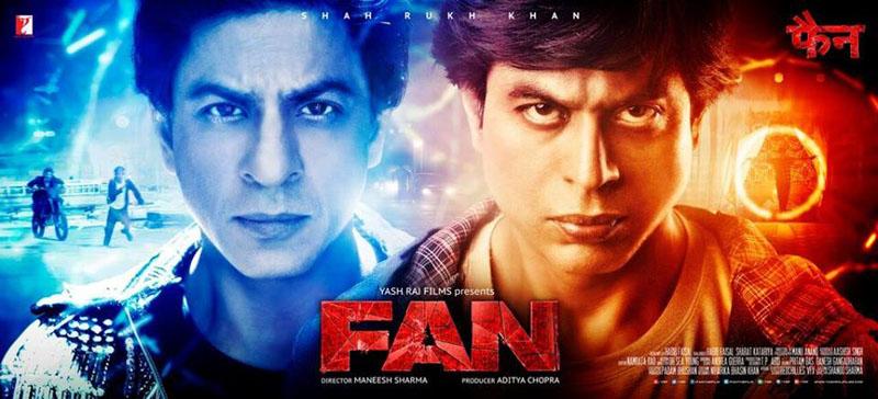 FAN movie poster shahrukh khan