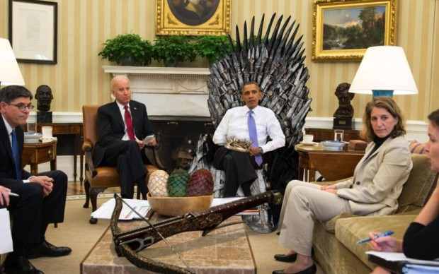 Obama Game of Thrones