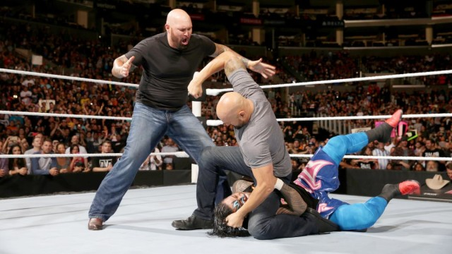 The Five-Knuckle Shuffle: WWE RAW, 11 April 2016