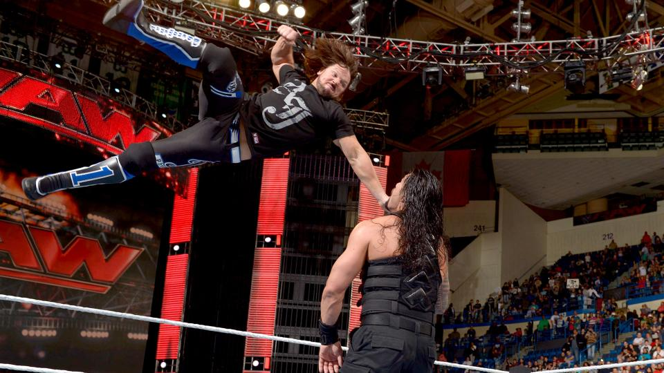 The Five-Knuckle Shuffle: WWE Raw, 25 April 2016