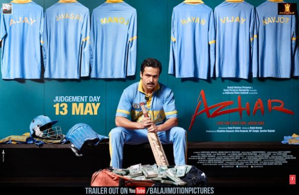 'Azhar' Movie Trailer Released – Watch Emraan Hashmi Perfectly Adopt Mohd. Azharuddin's Body Language