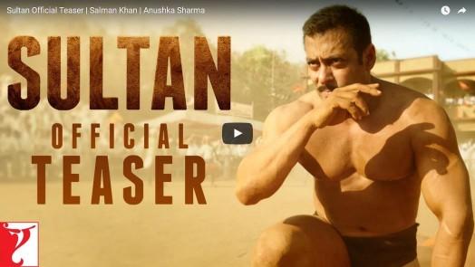 First Teaser Of 'Sultan' Starring Salman Khan – 'Haryane Ka Sher, Haryane ka Shaan'