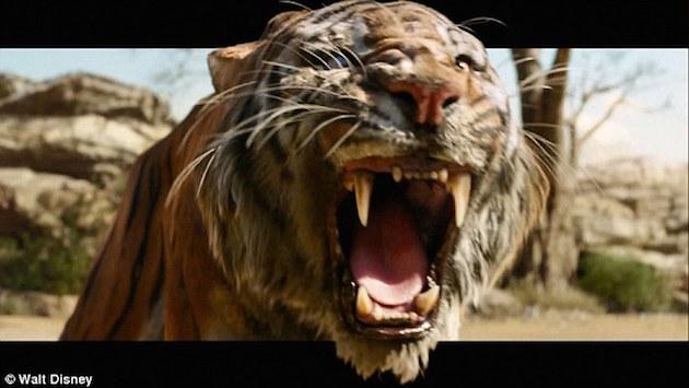 the jungle book tiger shere khan mowgli