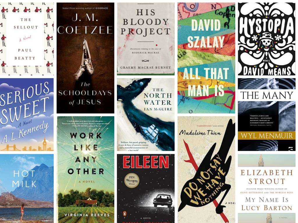 The 2016 Man Booker Prize For Fiction – Longlist Announced