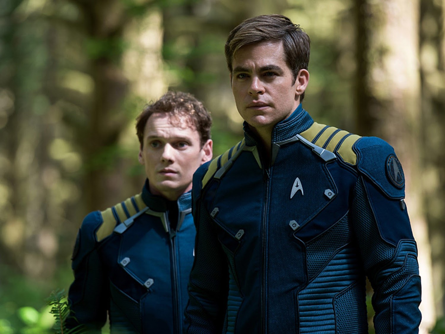 Star Trek Beyond Kirk and Chekov