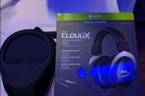 hyperx cloudx progaming headset