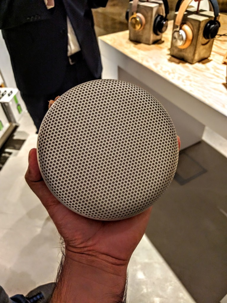 Beoplay A1 portable bluetooth speakers