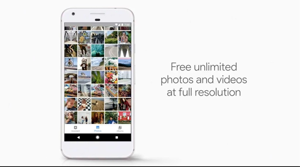 Unlimited Storage for Photos and Videos
