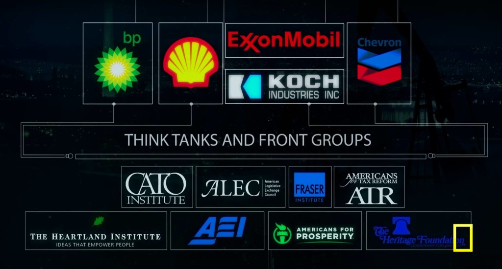 Think tanks are funded by corporations