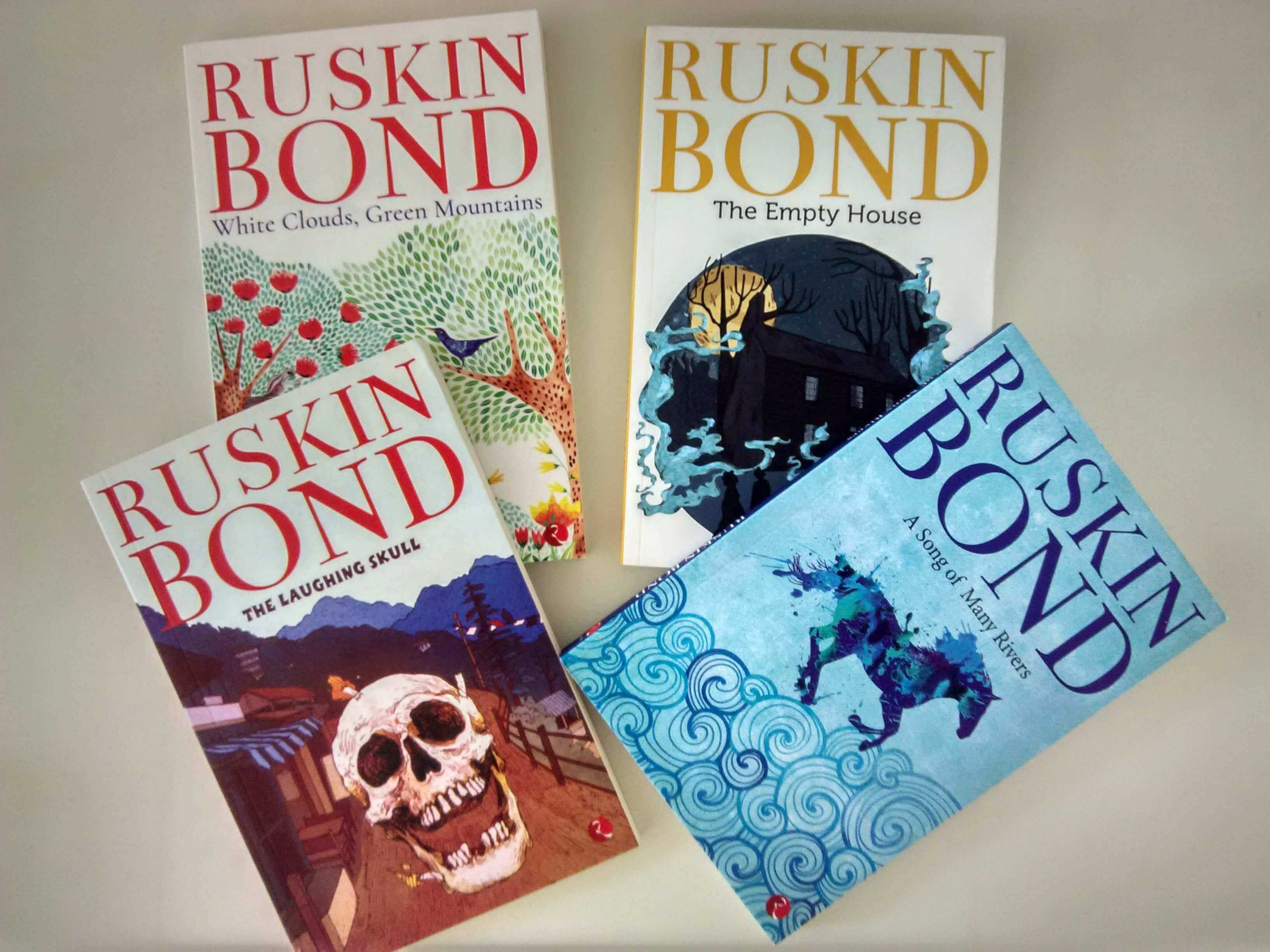 'A Song of Many Rivers', 'The Laughing Skull', 'The Empty House', 'White Clouds, Green Mountains' by Ruskin Bond | Book Review