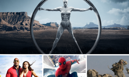 Film Geeks Podcast 002 – Westworld, Baywatch, Spiderman: Homecoming, The Wall