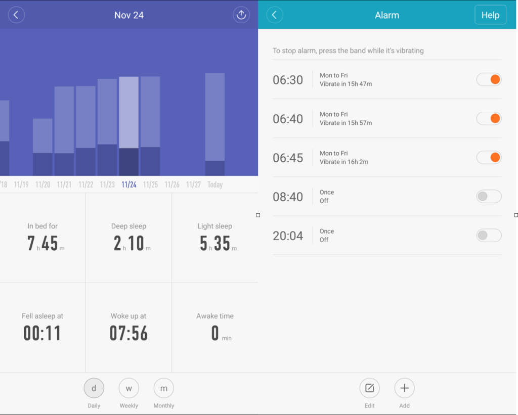 Xiaomi_band2_sleep_tracking