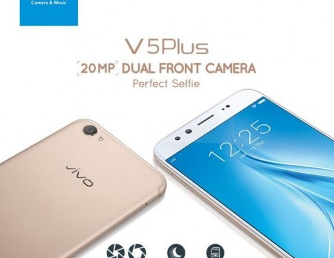 Vivo V5 Plus Dual-eyed Selfie Smartphone Launched For INR 27,980/-