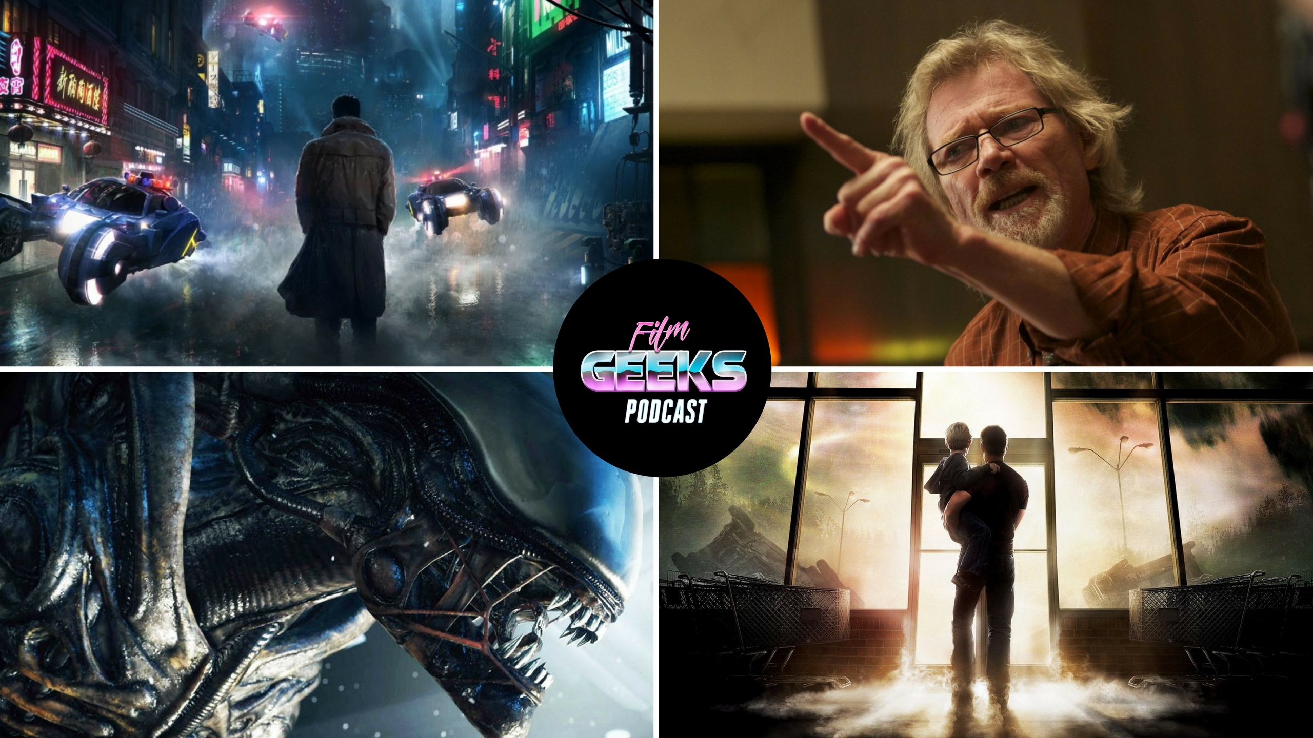 Film Geeks Podcast 20 – Alien Covenant Review | Blade Runner 2049 Trailer Reaction