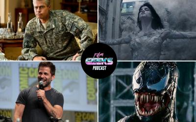 Film Geeks Podcast 21 – Justice League | Dark Universe | Venom | War Machine Movie Review
