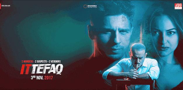 'Ittefaq' trailer starring Sidharth Malhotra, Sonakshi Sinha and Akshaye Khanna Promises an intense thriller